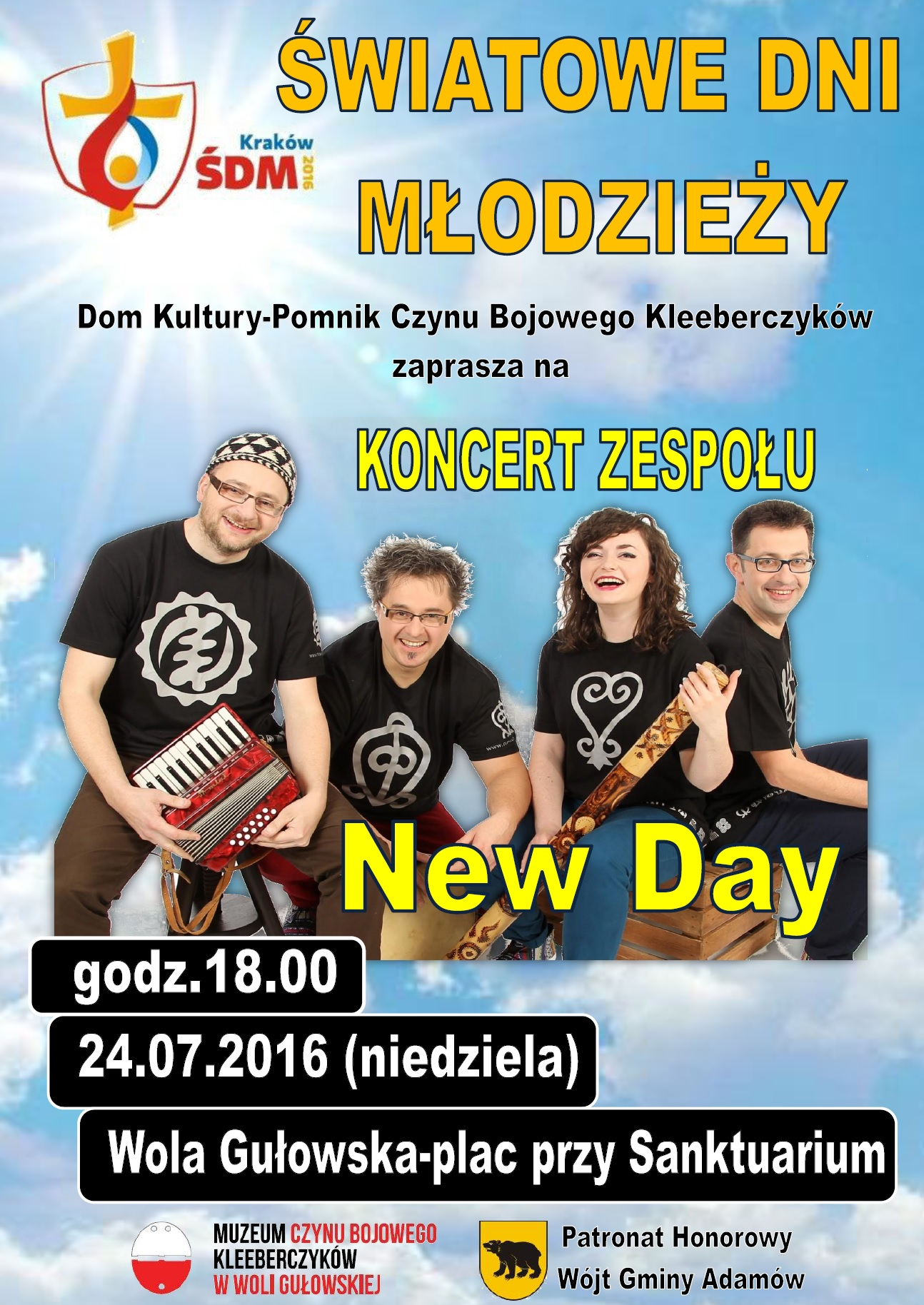 plakat new day